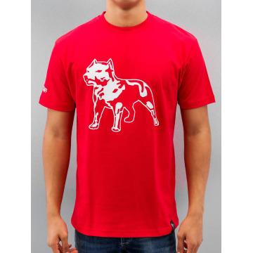 Amstaff T-shirt Logo röd