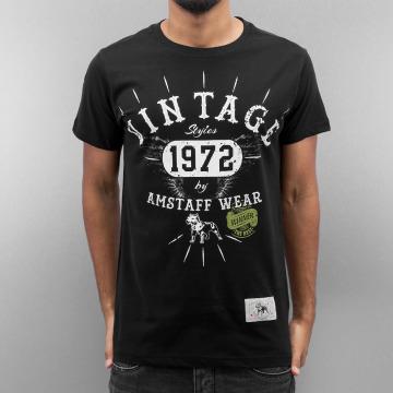 Amstaff T-Shirt AMSV008 schwarz