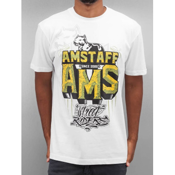 Amstaff T-Shirty Harson bialy