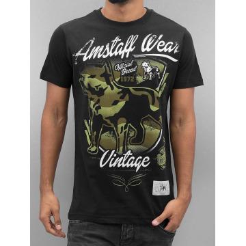 Amstaff T-Shirty Perro czarny