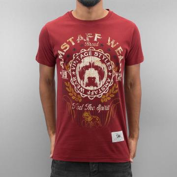 Amstaff T-Shirty Malex czerwony