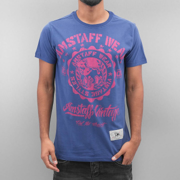 Amstaff T-Shirty Dorano niebieski