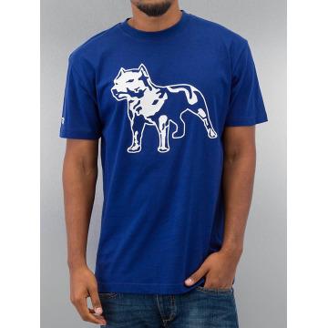 Amstaff T-skjorter Logo blå