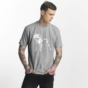 Amstaff T-skjorter Logo grå