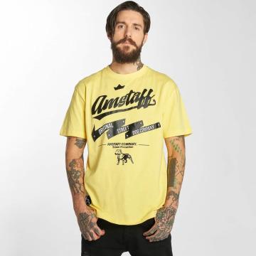 Amstaff T-skjorter Yarrow gul