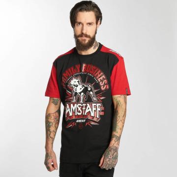Amstaff T-skjorter Legas svart