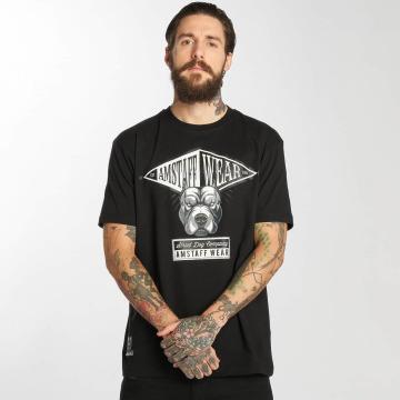 Amstaff T-skjorter Oron svart