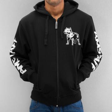 Amstaff Zip Hoodie Logo svart