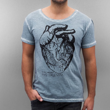 Amsterdenim t-shirt Floris blauw