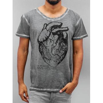 Amsterdenim T-shirt Floris grigio
