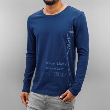 Amsterdenim T-Shirt manches longues Nelis bleu