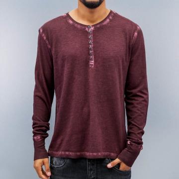 Amsterdenim T-Shirt manches longues Jeen Bridge rouge