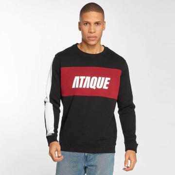 Ataque Пуловер Getxo черный