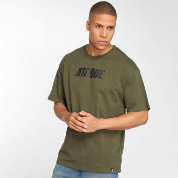 Ataque Camiseta Leon caqui