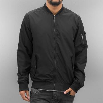Authentic Style Bomber jacket Thin Sublevel black