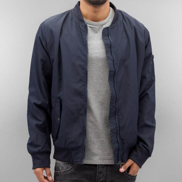 Authentic Style Bomberjacke Thin Sublevel blau