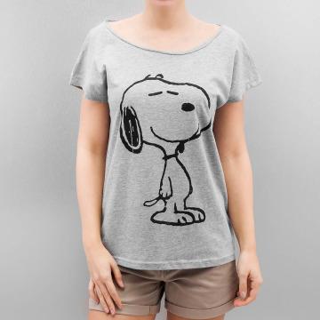 Authentic Style Camiseta Peanuts gris