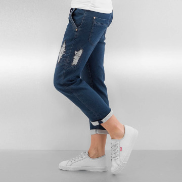 Authentic Style Jeans straight fit Romy blu