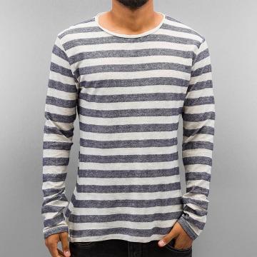 Authentic Style Långärmat Stripes blå