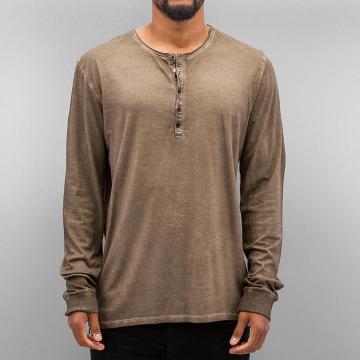 Authentic Style Långärmat Dyed brun