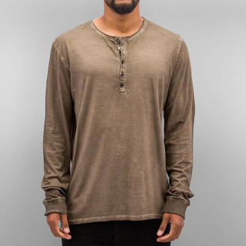 Authentic Style Longsleeve Dyed brown