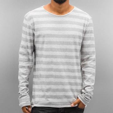 Authentic Style Longsleeve Stripes grau