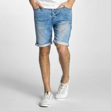 Authentic Style Shorts Sublevel Haka Bermuda Jogg Denim blå