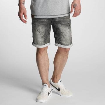 Authentic Style Shorts Sublevel Haka Bermuda Jogg Denim grigio