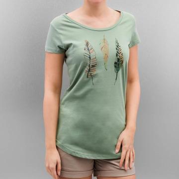 Authentic Style T-paidat Urban Surface Feathers vihreä