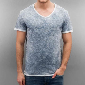 Authentic Style T-shirt Sublevel Basic blå