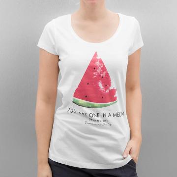 Authentic Style T-Shirt Summer Fruit blanc