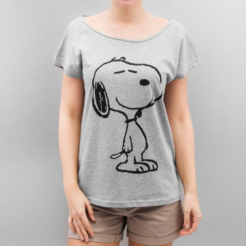Authentic Style T-shirts Peanuts grå