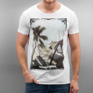 Authentic Style Tričká Oceancity biela
