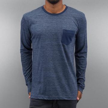Authentic Style Tričká dlhý rukáv Tom modrá