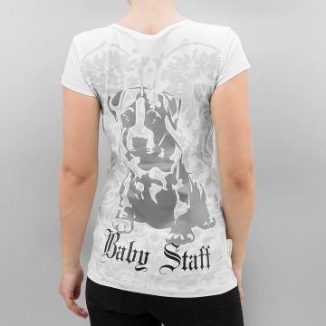 Babystaff T-skjorter Geza hvit