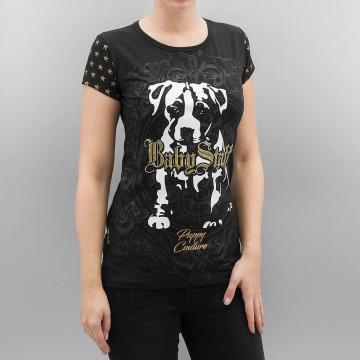 Babystaff T-skjorter Manita svart