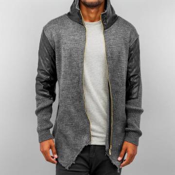 Bangastic Cardigan PU Knit gray