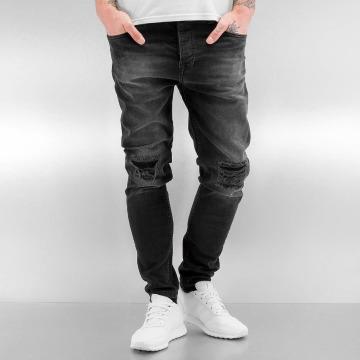 Bangastic dżinsy przylegające K125 Slim Fit szary