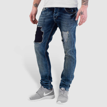 Bangastic Jean coupe droite Washed bleu