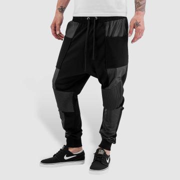 Bangastic joggingbroek PU zwart