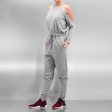 Bangastic Jumpsuit Backless grigio