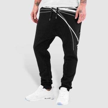 Bangastic Pantalón deportivo WhiteStripes negro