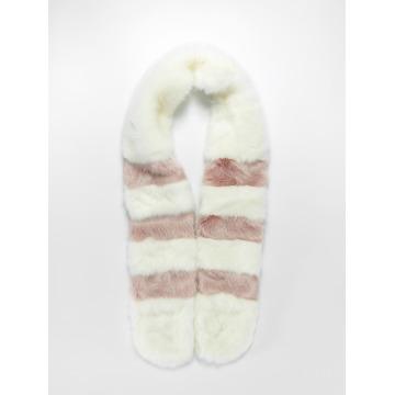 Bangastic Scarve / Shawl Fake Fur white