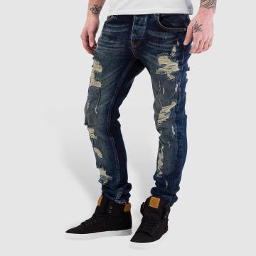 Bangastic Skinny jeans Destroyed blauw