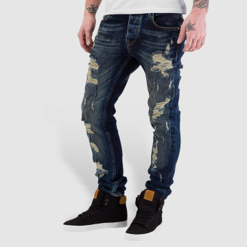Bangastic Skinny Jeans Destroyed blue