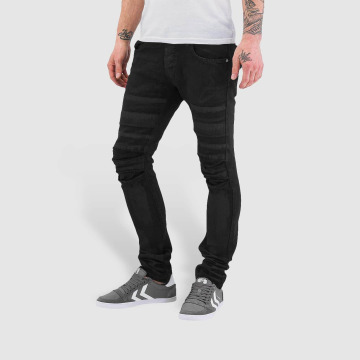 Bangastic Skinny Jeans Printed schwarz