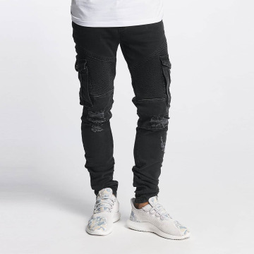 Bangastic Slim Fit Jeans Hjalmar schwarz
