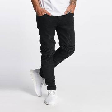 Bangastic Slim Fit Jeans Sigge schwarz