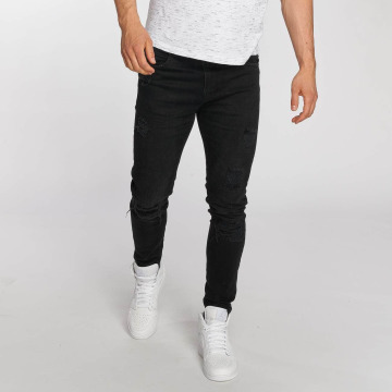 Bangastic Slim Fit Jeans Burundi svart