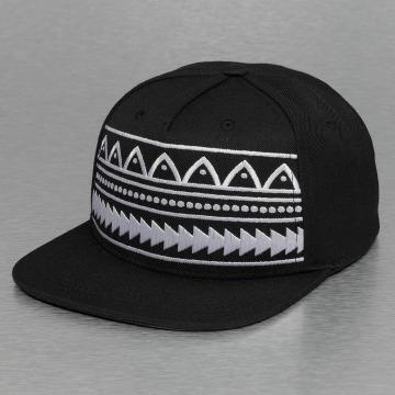 Bangastic Snapback Cap Pattern black
